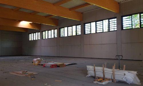 Unsere neue Doppel-Sporthalle